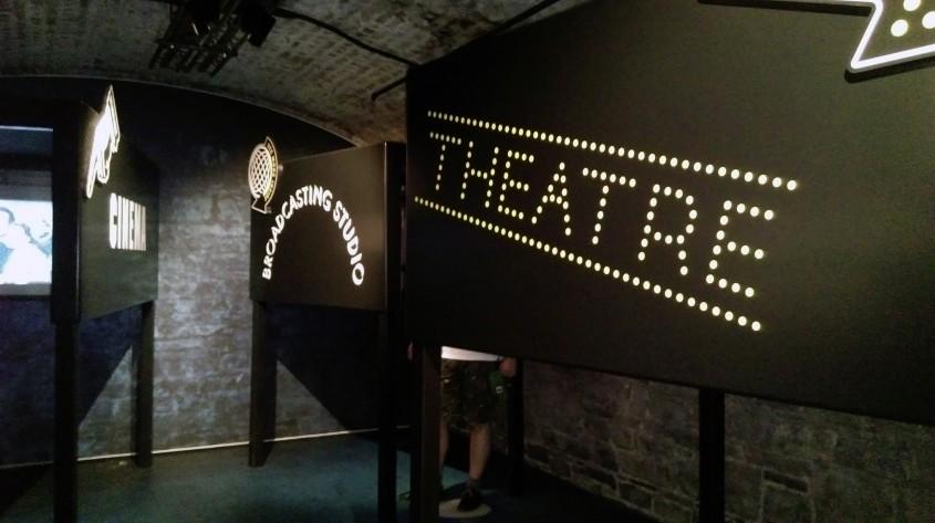 Muzica teatru si film - Muzeul Emigrației Irlandeze EPIC un spectacol vizual și interactiv care nu