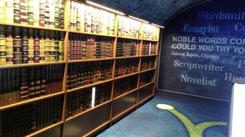 Literatura irlandeza - Muzeul Emigrației Irlandeze EPIC, un spectacol vizual și interactiv care nu trebuie ratat
