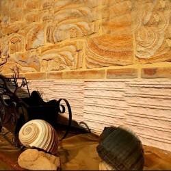 Marmura Rodon Kotle 60 x 30 cm - Piatra naturala decorativa marmura nihaki black