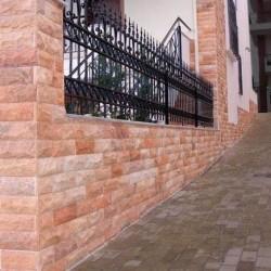 Marmura Rodon Scapitata 10 x 30cm - Piatra naturala decorativa marmura nihaki black
