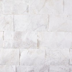 Marmura Volakas Scapitata 10cm x LL - Piatra naturala decorativa marmura nihaki black