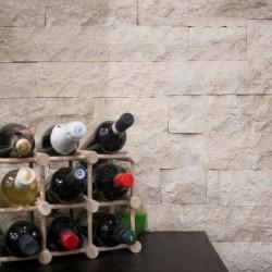 Marmura Cappuccino Scapitata 10 cm x LL x 2.3 cm - Piatra naturala decorativa marmura nihaki black