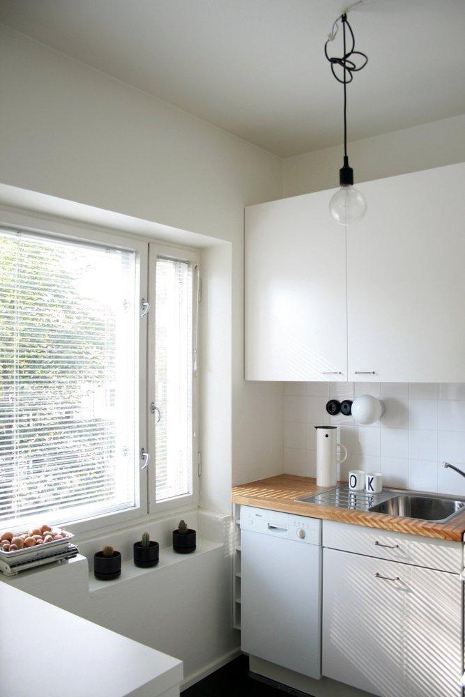 Apartament amenajat in alb si negru - Apartament amenajat in alb si negru