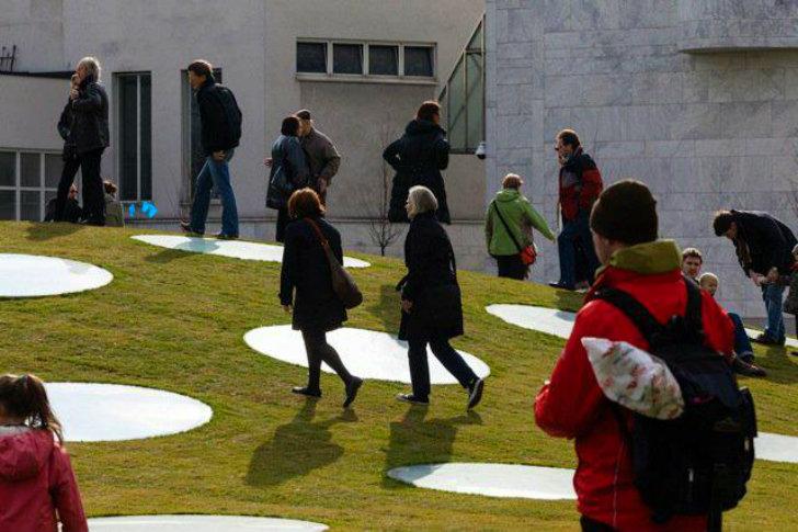 Muzeul Stadel - Terasa inierbata