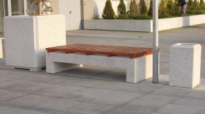 Banca din beton - Mobilier urban - Banci