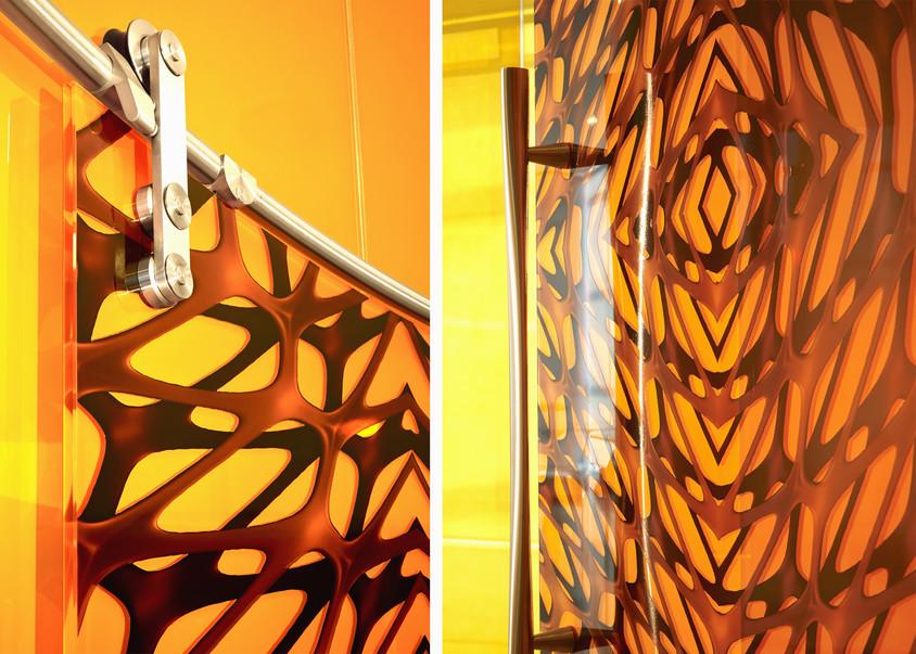 Hybrid Collection Doors with Mesh Pattern by Mac Stopa for Casali - CASALI participă la prestigiosul