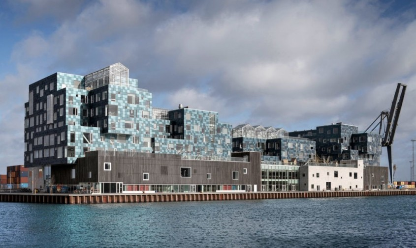 Scoala Nordhavn din Copenhaga - O școală complet acoperită cu 12,000 de panouri solare