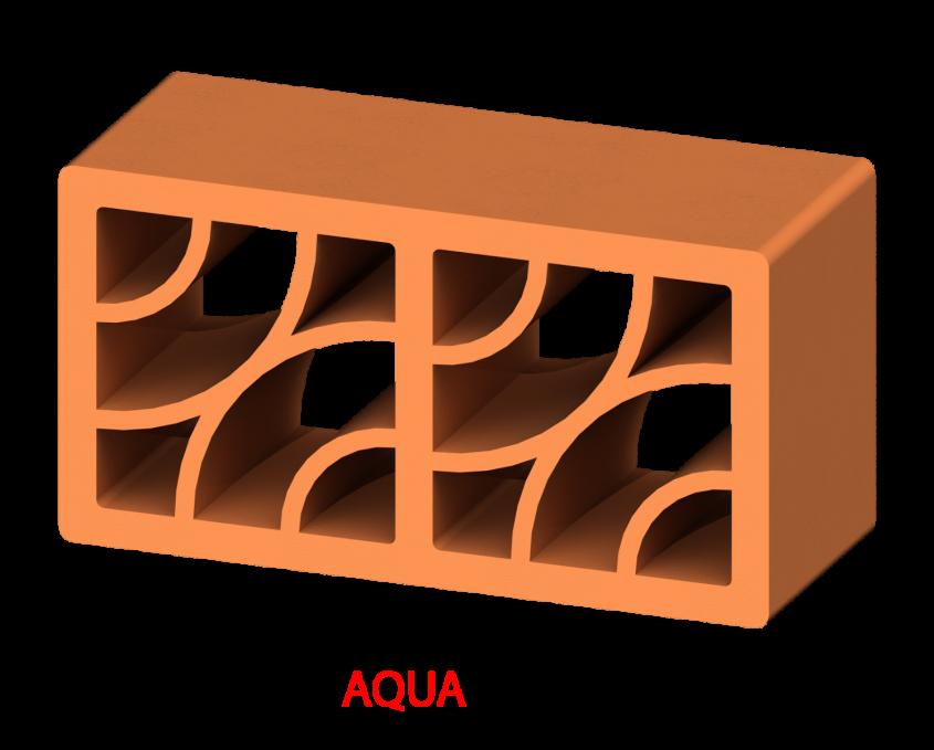 Aqua - Elementele de gard Brikston