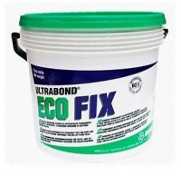 Adeziv in dispersie apoasa fara solventi, permanent lipicios pentru mocheta si PVC in dale - ULTRABOND ECO FIX - adezivi