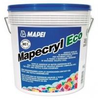 Adeziv acrilic in dispersie apoasa, pentru pardoseli vinilice si textile - Mapecryl Eco  - adezivi