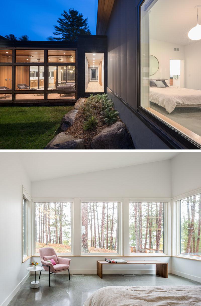 Casa cu ferestre mari și vedere la lac - Casa cu ferestre mari și vedere la