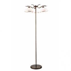 Lampadar Cobra negru 3x60W E27, sticla - Iluminat corpuri de iluminat