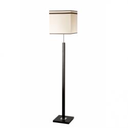 Lampadar Daria wenge 1x60W E27, textil - Iluminat corpuri de iluminat