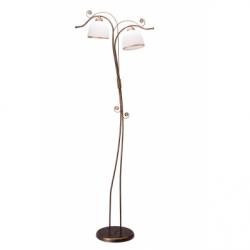 Lampadar Retro II negru 2x60W E27, sticla - Iluminat corpuri de iluminat