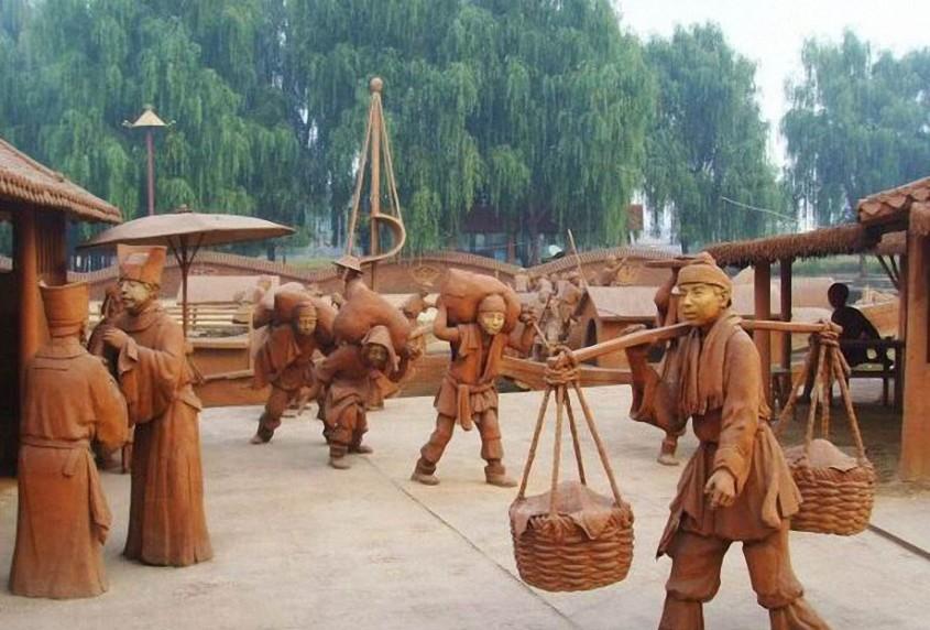 Un sat intreg realizat din ceramica! - Un sat intreg realizat din ceramica!
