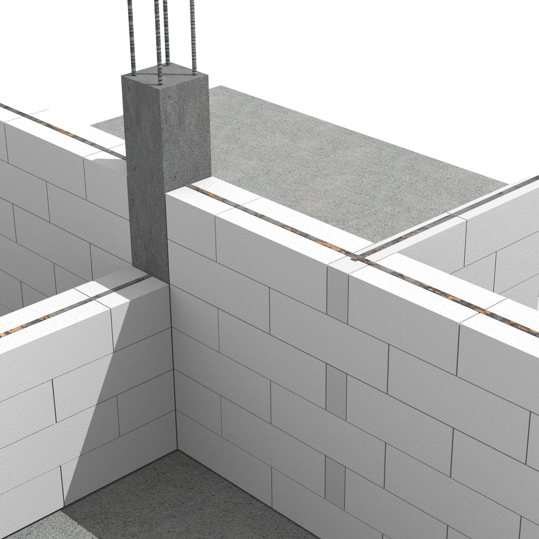 Pereti de compartimentare portanti realizati cu blocuri de zidarie BCA MACON SIMCOR - Sistem de zidarie confinata din BCA Macon pentru constructii rezidentiale, publice si industriale
