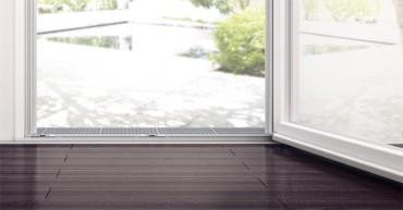 Roto Eifel - Gama de praguri special conceputa pentru usi etanse si usi de balcon accesibile - Mecanisme pentru usi de balcon si terasa