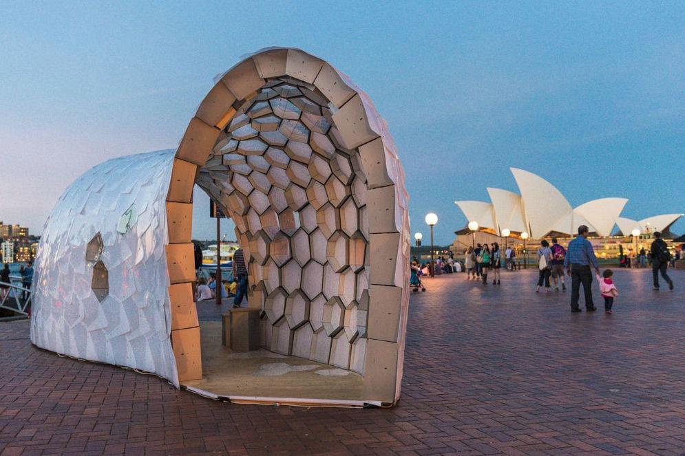 Pavilion cu forme geometrice - Pavilion cu forme geometrice