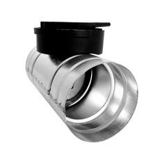 Conector Clapeta Inchidere - Tubulatura flexibila antibacteriana HDPE si accesorii