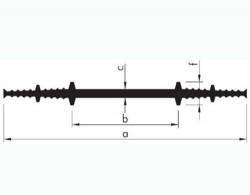 Profil de etansare intern pentru rosturi de turnare - grosime de 26 mm si 30 mm - Profile etansare interne pentru rosturi de turnare