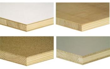 Panel tehnic, ignifugat, furniruit  - Placaj lemn