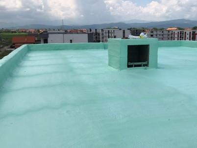 Impermeabilizare terasa cu poliuree - Hidroizolatii terase cu poliuree