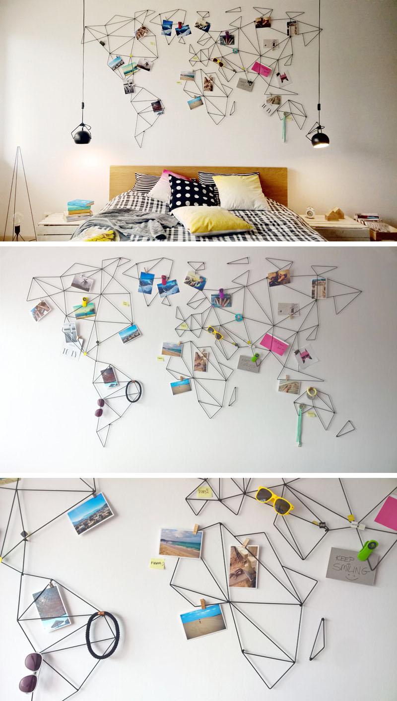 10 modele interesante de harti ale lumii - Cu harta lumii pe perete! Iată 10 modele