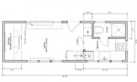 Casa Covo Mio - plan - O posibila casa a viitorului: mica, dar controlabila de pe smartphone