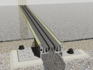 Profil de dilatatie Hidroplasto 445/m - Profile dilatatie pentru rosturi la pardoseala
