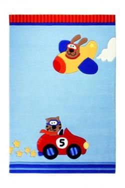 Covor Copii Acril Sigikid Colectia Happy Street Cars Sk-3343-01 - Covoare