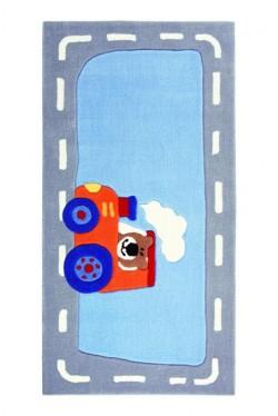 Covor Copii Acril Sigikid Colectia Happy Street Traffic Sk-3346-01-S - Covoare