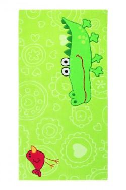 Covor Copii Acril Sigikid Colectia Happy Zoo Crocodile Sk-3341-01-S - Covoare