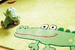 Covor Copii Acril Sigikid Colectia Happy Zoo Crocodile Sk-3341-01 - Covoare