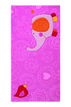 Covor Copii Acril Sigikid Colectia Happy Zoo Elephant Sk-3342-01-S - Covoare