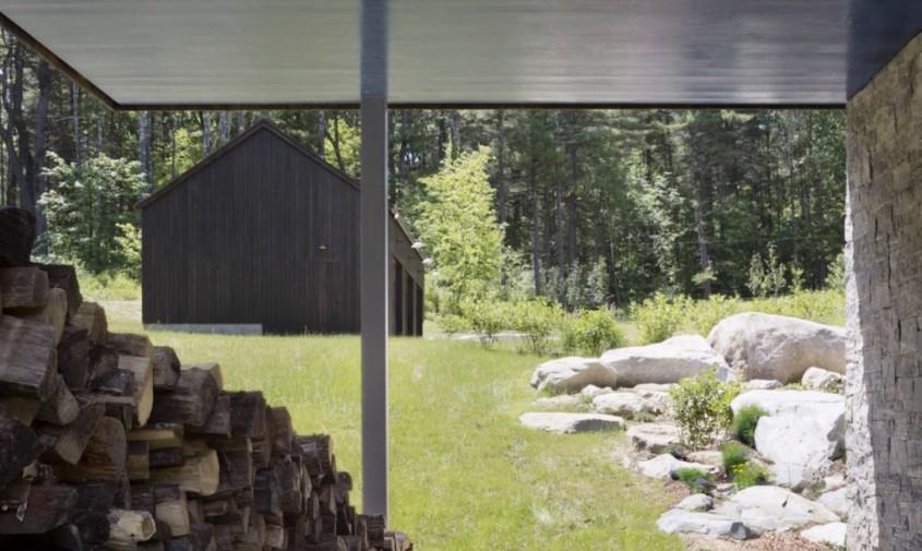 Undermountain-by-O'Neill-Rose-Architects-6-1020x610 - Casă adaptată peisajului astfel încât apa de ploaie să curgă pe dedesubt