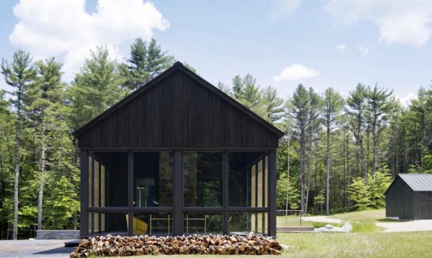 Undermountain-by-O'Neill-Rose-Architects-9-1020x610 - Casă adaptată peisajului astfel încât apa de ploaie să curgă pe dedesubt
