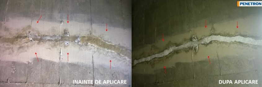 2 - Reparația locală a unei fisuri