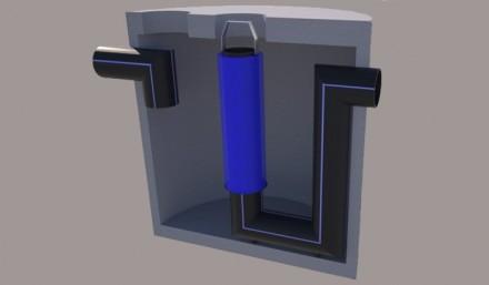 Separator de hidrocarburi si namol cu retentie totala - Separatoare de hidrocarburi
