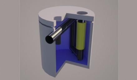 Separator de hidrocarburi si namol, cu by-pass - Separatoare de hidrocarburi