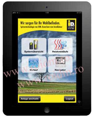 Smart web - Pompa de caldura sol - apa TERRA MAX