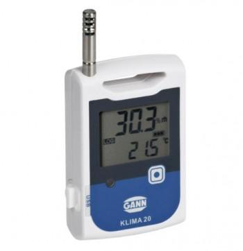 Unitate de stocare mobila Data logger Klima 20 - Masurare umiditate din aer si temperatura