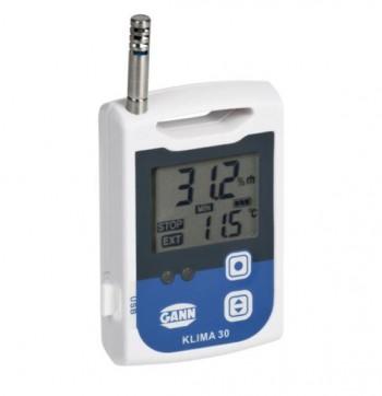 Unitate de stocare mobila Data logger Klima 30 - Masurare umiditate din aer si temperatura