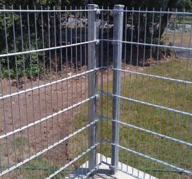 Stalpi metalici rectangulari Decorio - Stalpi metalici pentru garduri