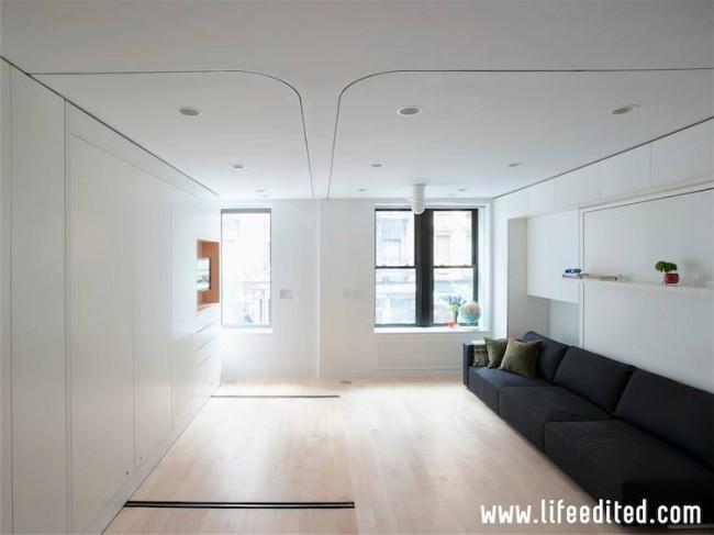 Apartamentul LifeEdited - Apartamentul LifeEdited sau cum doi arhitecti romani castigat provocarea de a amenaja eficient un spatiu de doar 39 m