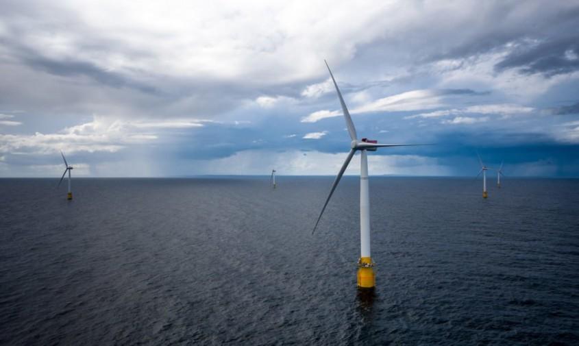 Ferma eoliana Hywind Scotland - Prima fermă eoliană din lume are rezultate peste așteptări