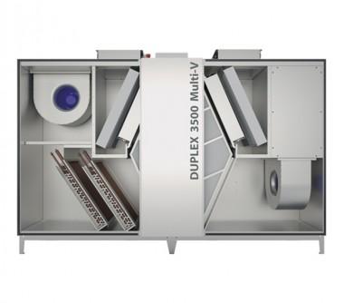 Unitate de ventilatie cu recuperare de caldura DUPLEX Multi-V 1500 - 8000 m3/h - Unitati de ventilatie cu recuperare de caldura