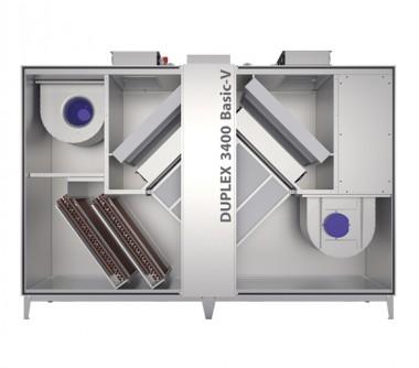 Unitate de ventilatie DUPLEX Basic-V 1400 - 10100 m3/h - Unitati de ventilatie cu recuperare de caldura