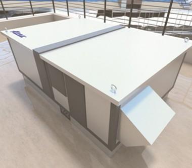 Unitati de ventilatie cu montaj exterior DUPLEX BASIC-N Rooftop 1400 - 10100 m3/h - Unitati de ventilatie cu recuperare de caldura