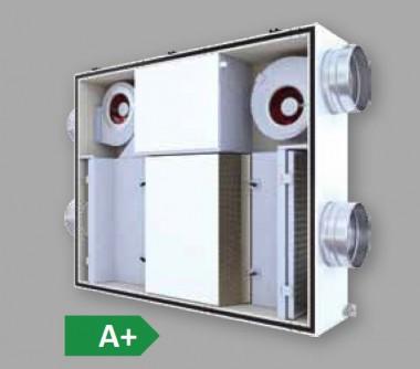 Unitate de ventilatie compacta DUPLEX EC5 - Unitati de ventilatie cu recuperare de caldura