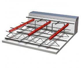Sistemul cu suport pe plasa de sarma sau pe structura de fier 1 - Montaj - Sistem de incalzire in pardoseala cu suport pe plasa de sarma sau pe structura de fier